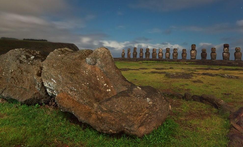 Moai, Húsvét-szigetek