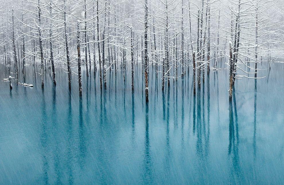 Blue-pond-Japán