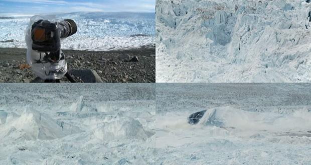 James Balog_Largest iceberg breakup