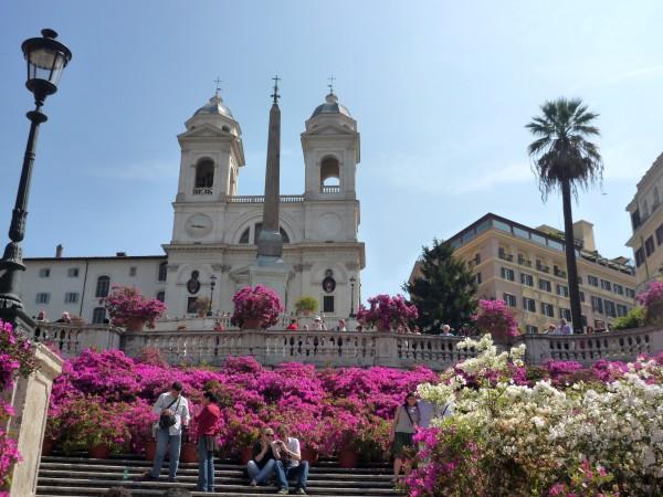 Róma legszebb lépcsősora, a Spanyol-lépcső – Világutazó