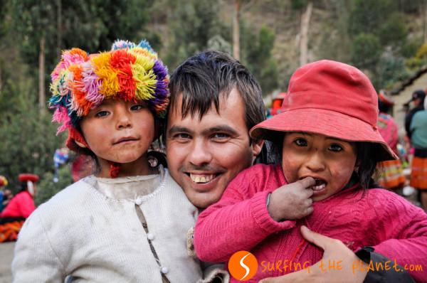 A perui kecsuák között