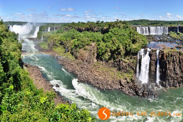 Iguazú-vízesés Argentína-Brazília