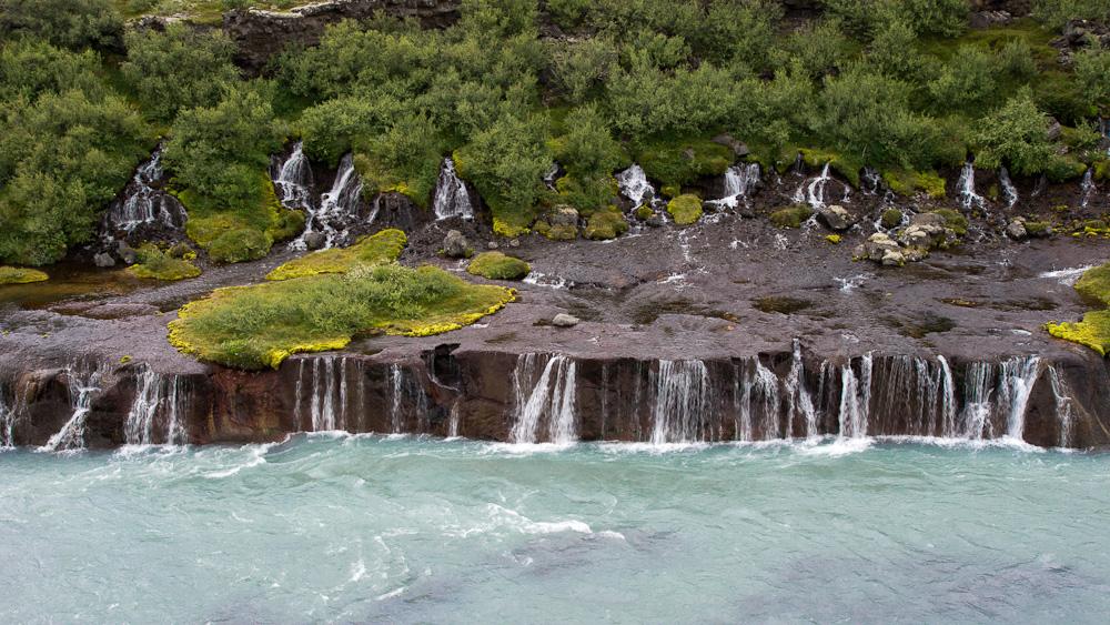 Izland vízesés