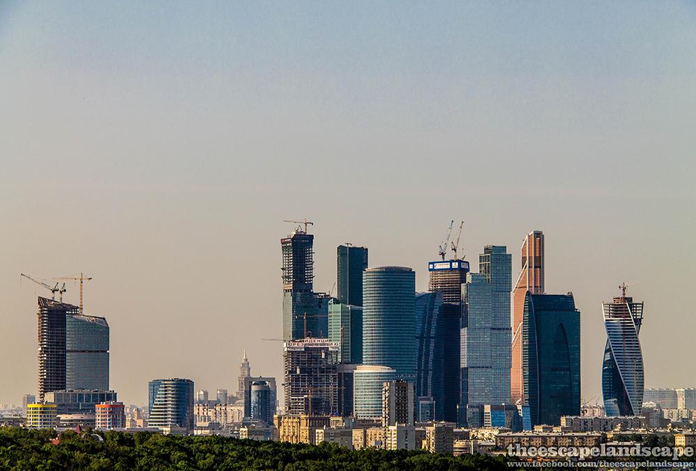 Moszkva felhőkarcolói