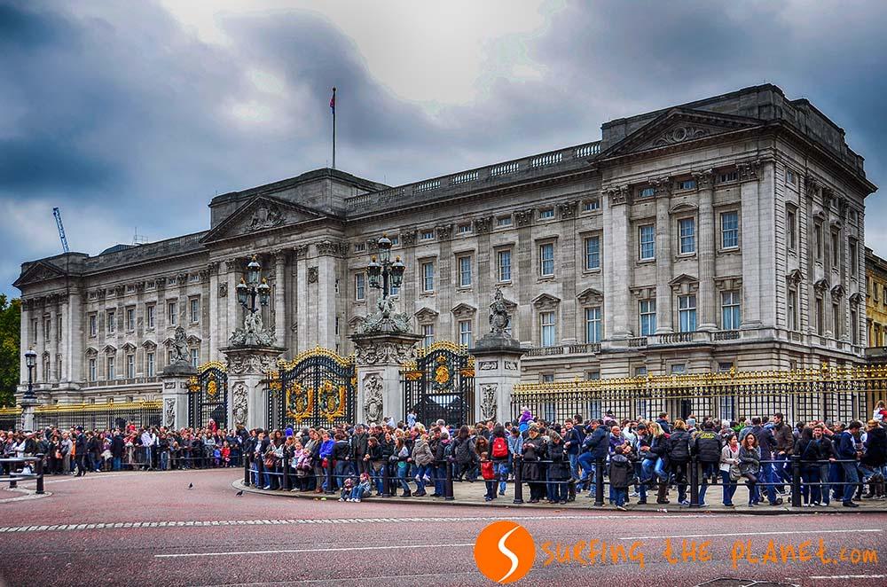 Az angol királynő és családjának hivatalos rezidenciája.