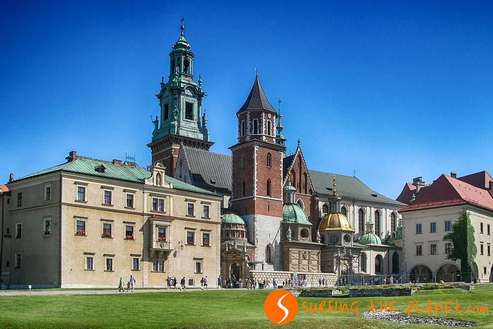 Gótikus stílusú palota, a lengyel uralkodók egykori lakhelye.