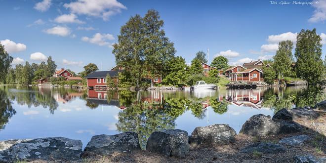 Sundborn, a Falunhöz tartozó idilli falvak egyike, a bánya részvényeseinek egykori kedvelt lakhelye. Itt lakott Svédország egyik legismertebb festője Carl Larsson is, egy bányamestertől vásárolt és a saját tervei alapján átalakított folyóparti házban.