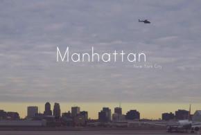 Manhattan utcáin