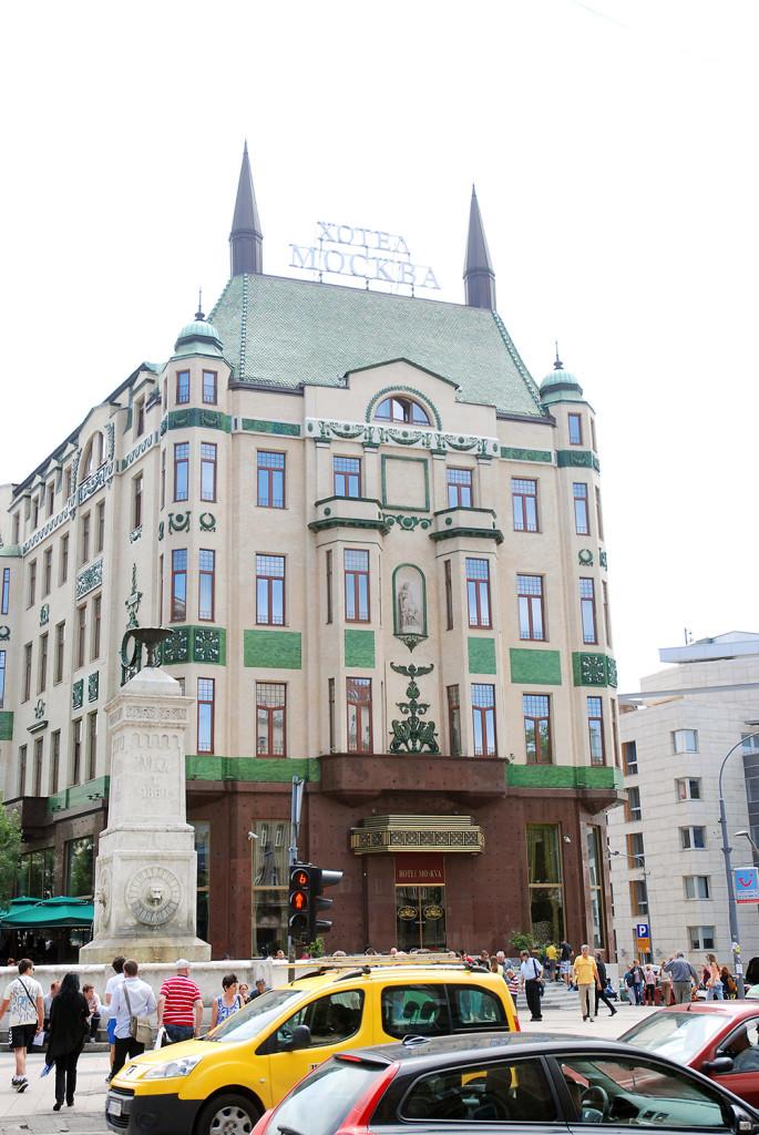 Hotel Moszkva - Belgrád