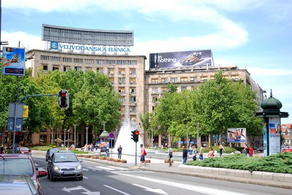 Belgrád Nikola Pasics tér