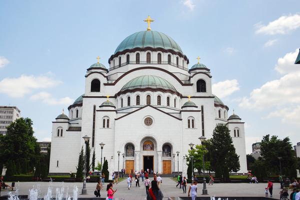 Szent Száva templom Belgrád