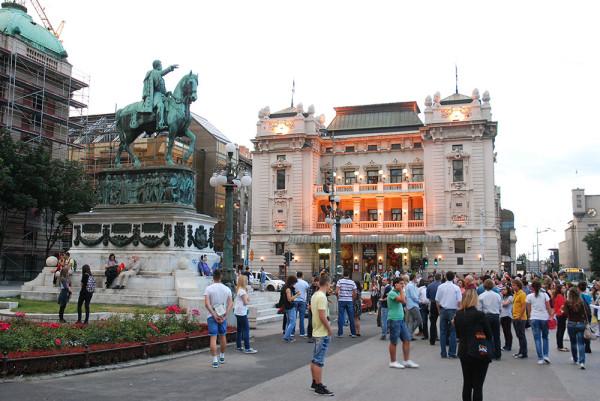 Belgrád - köztársaság tér