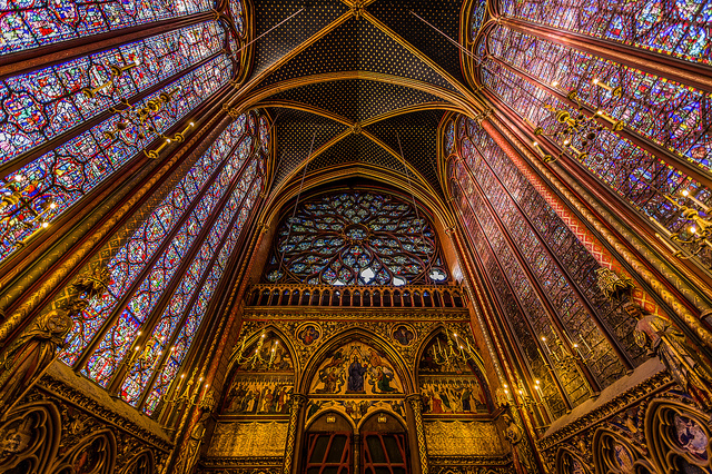 Sainte-Chapelle_Párizs