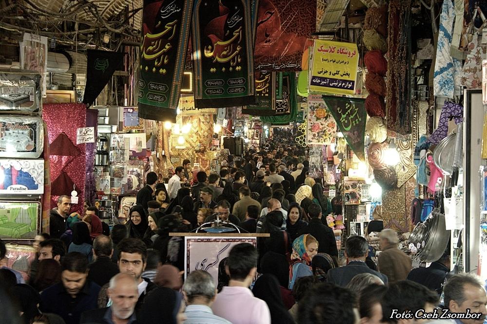 Teherán_bazár