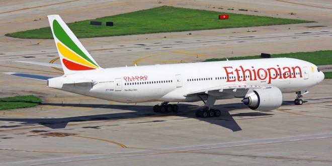 Ethiopian Airlines Aviareps - boeing 777