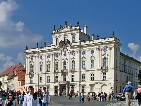 Pragai var_Erseki palota(Arcibiskupsky palac)