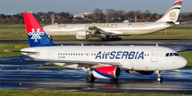 Air Serbia Olcsó akciós repülőjegyek