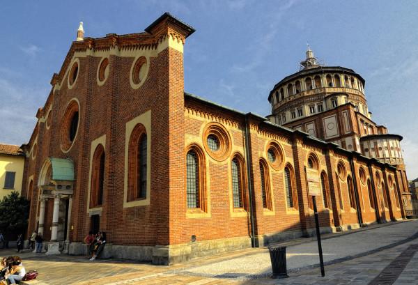 A Santa Maria delle Grazie_Milano
