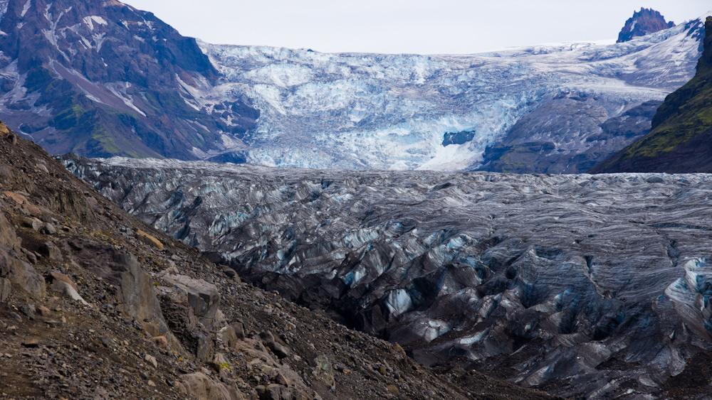 Svinafellsjökull gleccser