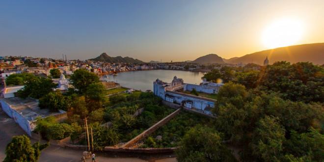 A pushkari szent tó és a város