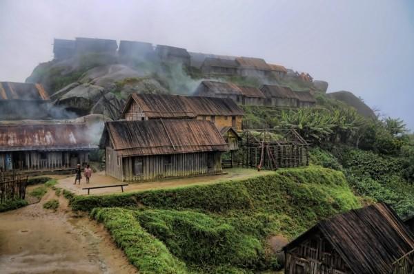 Zafimaniry falu_Madagaszkar