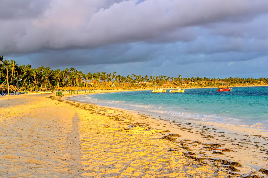 bavaro beach_punta cana_dominika