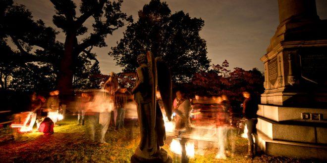 SLEEPY HOLLOW CEMETERY - PRESS ART - Lantern Tour