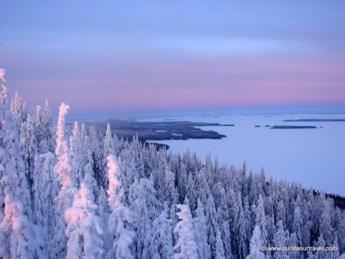 A Pielinen-tó Ukko Koliból