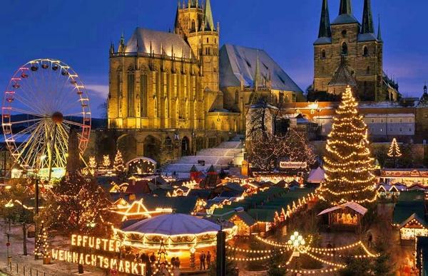 Karácsonyi vásár Erfurt