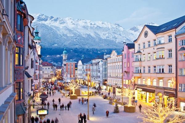 Karácsonyi vásár Innsbruck