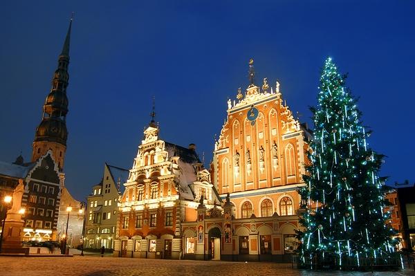 Karácsonyi vásár Riga
