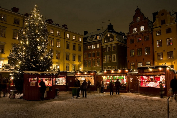 Karácsonyi vásár Stockholm
