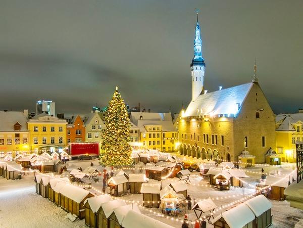 Karácsonyi vásár Tallin