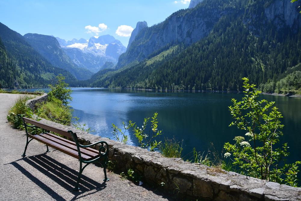 Gosau-tó, a salzkammerguti tóvidék legvadregényesebb tava
