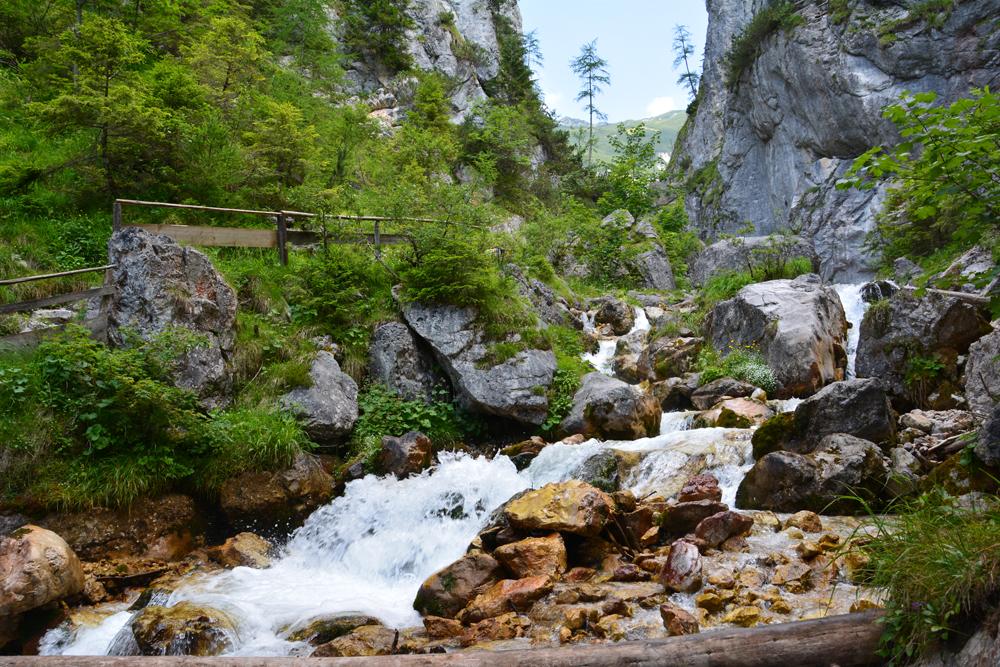 Silberkarklamm – szurdok a Dachstein lábánál