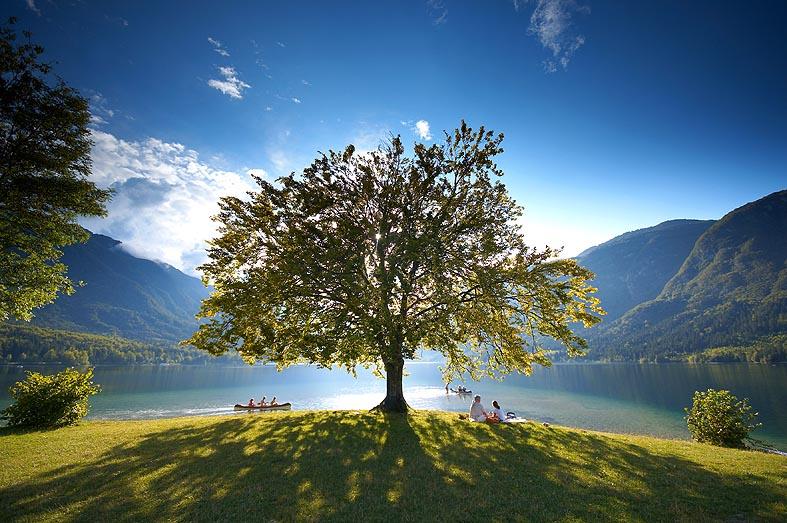 A csodálatos Bohinji-tó