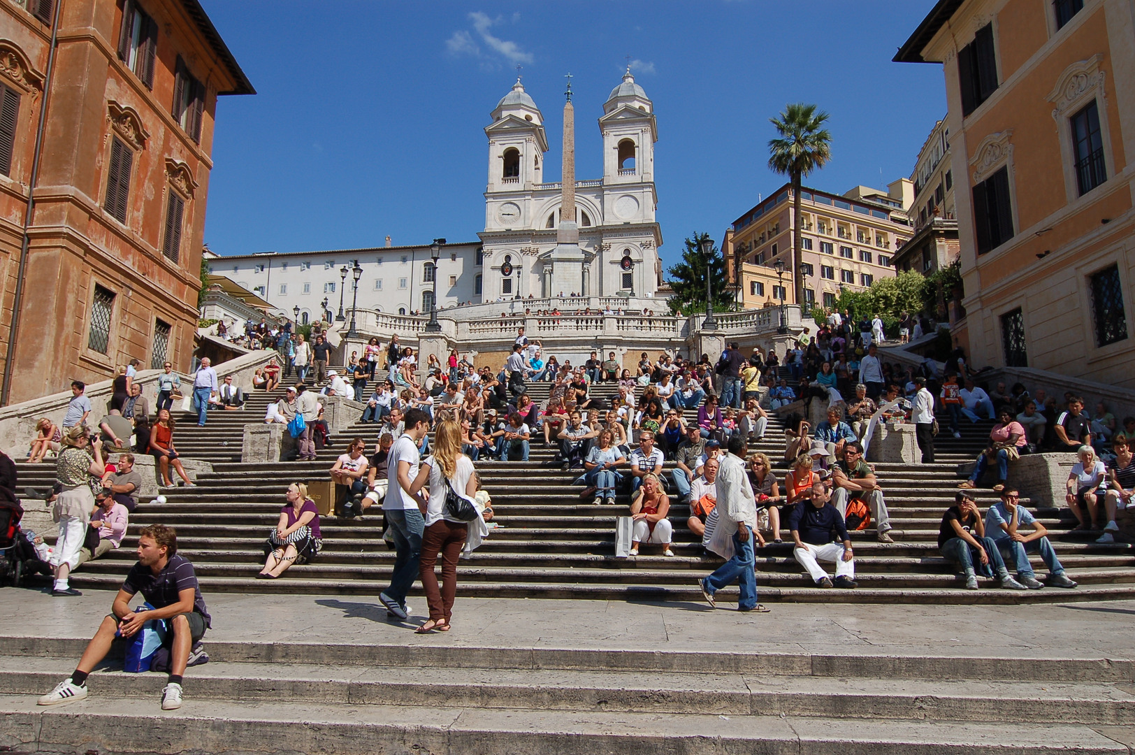 Spanyol-lépcső - Világutazó