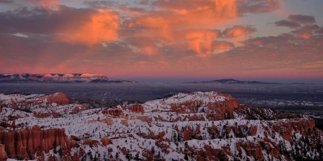 Bryce Canyon naplemente