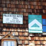 Millstatter Hütte - 1850 méteren. Nem csak egy rövid pihenőre állhatunk meg túrázás közben, hanem akár meg is aludhatunk.