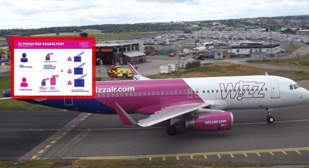 25062049b0c8 FRISS: Új poggyász-szabályzat a Wizz Air-nél 30 másodpercben ...