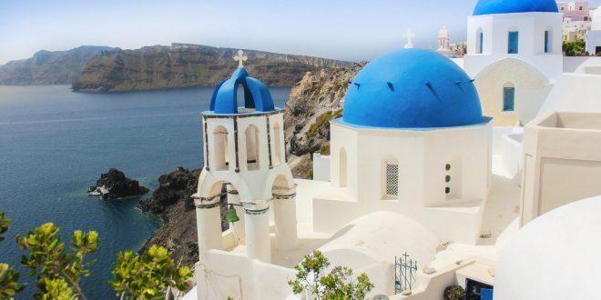 Szantorini az Égei-tenger gyöngyszeme