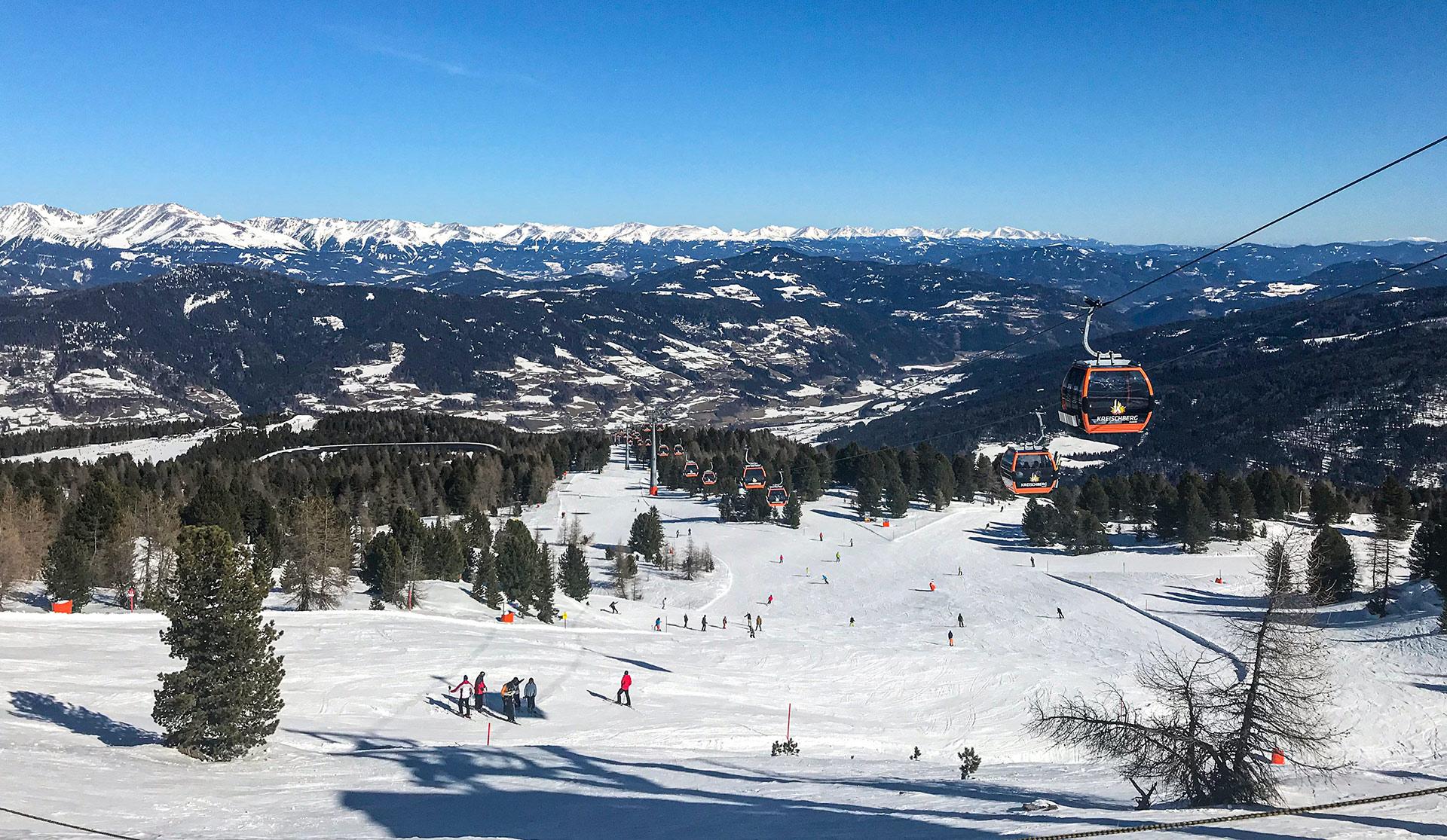 Kreischberg, Murau – a magyar hegy Ausztriában