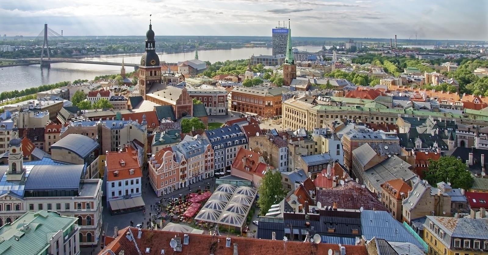 Egy séta Riga macskaköves utcáin