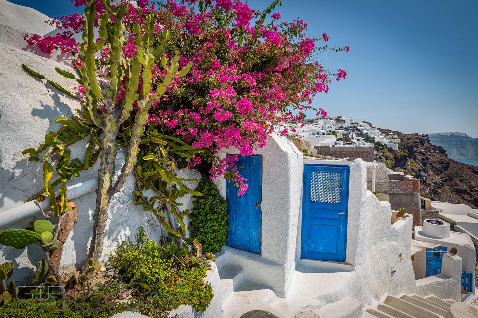 Egy nap Santorini szigetén